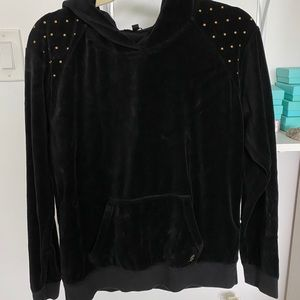 Juicy Couture Studded Velour Hoodie